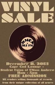 WMUA Vinyls Sale December 2013