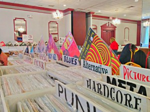 LP Vinyl Records, Utica NY Sunday April 12th, 2015