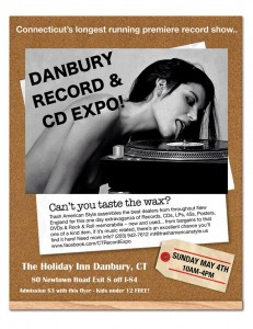 Danbury Record and CD Expo May 4 2014