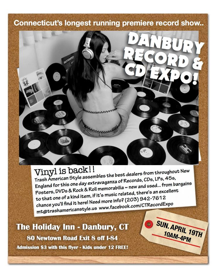Danbury Record and CD Expo – Sunday April 19, 2015