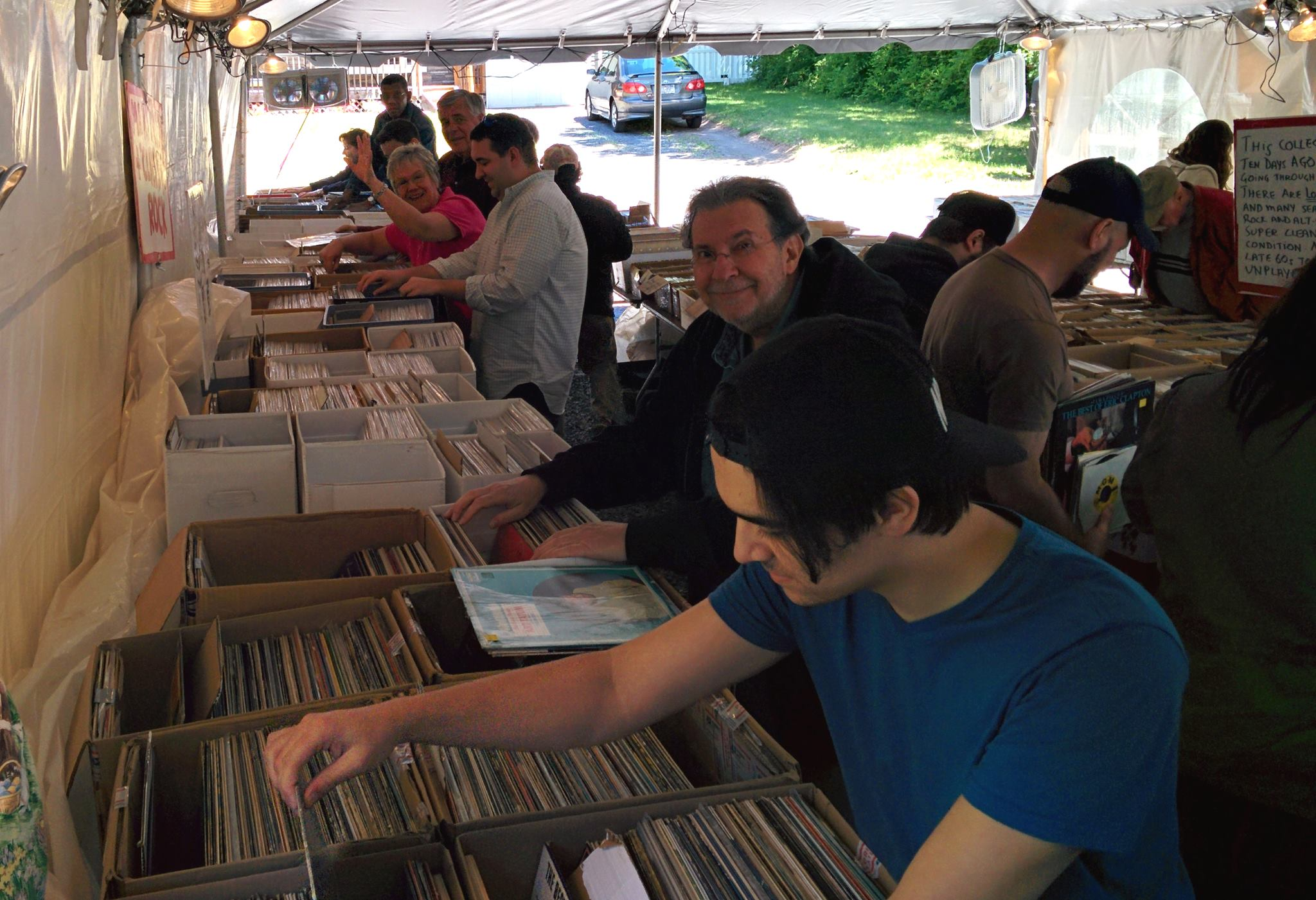Huge Vinyl Record LP and CD Yardsales – Woodstock NY – Labor Day Weekend – September 3rd ,4th & 5th 2016 – Three Locations