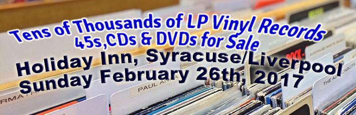 Syracuse Lp Vinyl Records And Cd Fair Sunday February