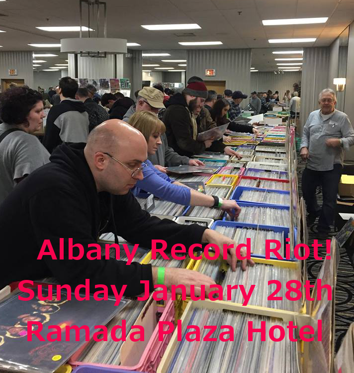 Albany NY – Record Riot – Sunday January 28th