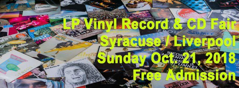 Syracuse NY – NY LP + CD Fair – Sun Oct 21, 2018