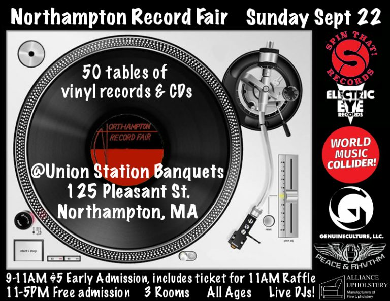 Northampton MA – Sunday September 22, 2019